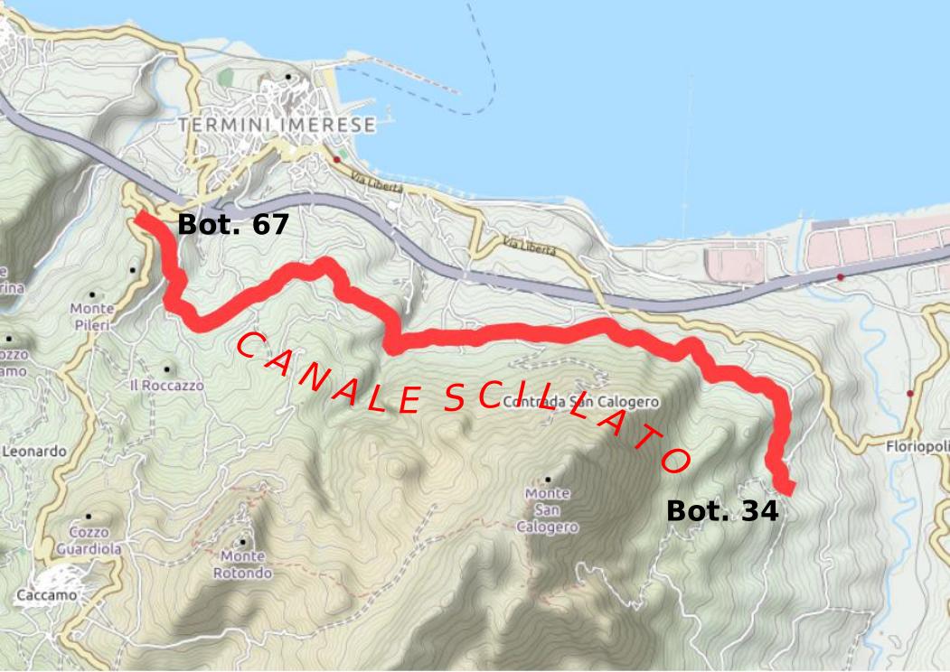 Cartina Sicilia Termini Imerese.Interruzione Fornitura Idrica Utenze Del Canale Scillato In Territorio Di Termini Imerese Amap S P A